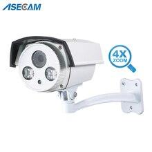 3MP камера видеонаблюдения авто зум 2,8 ~ 12 мм объектив варифокальный видеонаблюдение открытый Epistar 42Mil массив Инфракрасная уличная AHD видео наблюдение