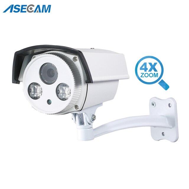 3MP CCTV Della Macchina Fotografica Auto Zoom 2.8 ~ 12 millimetri Lente Varifocale Outdoor Epistar 42Mil Array infrarossi Strada AHD Telecamera di Sorveglianza