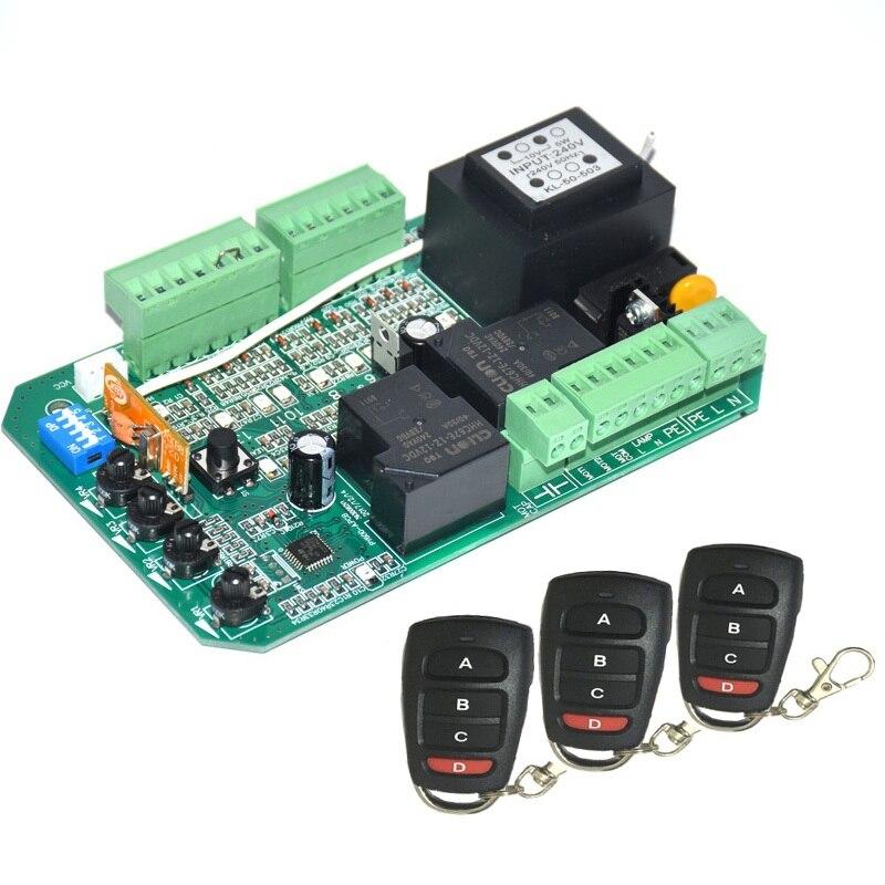 Universal ใช้เลื่อนประตูมอเตอร์ควบคุม PCB controller แผงวงจรอิเล็กทรอนิกส์การ์ด PY600ACL SL1500AC PY800AC