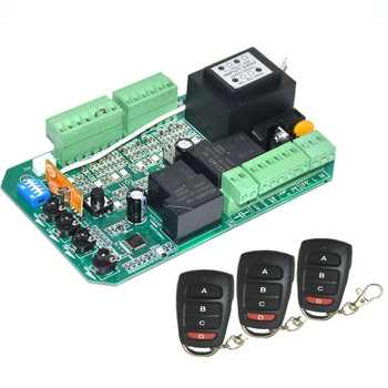Universal use sliding gate opener motor control unit PCB controller circuit board electronic card PY600ACL SL1500AC PY800AC - DISCOUNT ITEM  5% OFF All Category