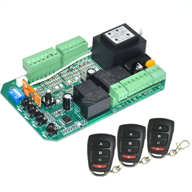 Wide use sliding gate opener motor control unit PCB controller circuit board electronic card plate PY600ACL SL1500AC PY800AC