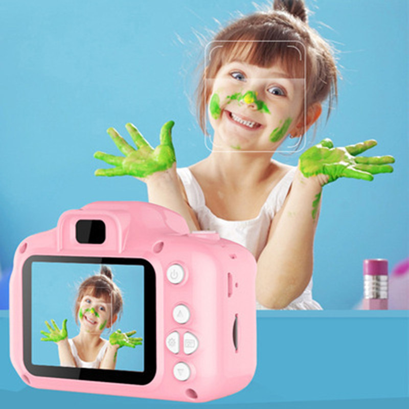 Baby Camera With 8GB Memory Card Mini Digital Cameras Toys For Kids Birthday Gift Mini Children's Digital Camera Original Box