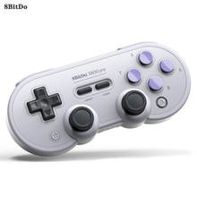 цена на 8BitDo SN30 Pro Wireless Switch Controller Gamepad Joystick For Nintendo Switch Windows Android macOS