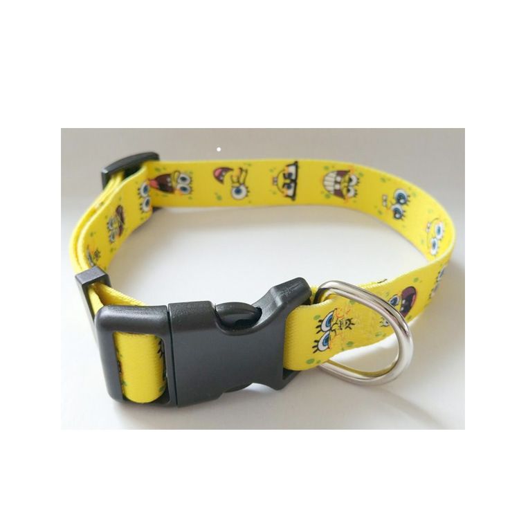 Dog Neck Ring Thermal Transfer Dog Traction Rope Neck Ring Sample Cats Neck Ring