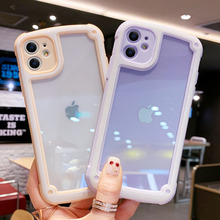 Macaron Candy Colors Lens Protection Phone Case For IPhone 11 Pro X XR XS Max Soft Silica Gel Cover 7 8 6s Plus