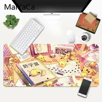 MaiYaCa Pokemons DIY Design Pattern Game mousepad XXL Mouse Pad Laptop Desk Mat pc gamer completo for lol/world of warcraft 3