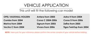 Image 5 - 2 الدين مشغل أسطوانات للسيارة ستيريو ل فوكسهول أوبل أسترا H G فيكترا انتارا زافيرا كورسا جفل مشغل أسطوانات للسيارة غس نافي عجلة القيادة RDS TV CAM DAB