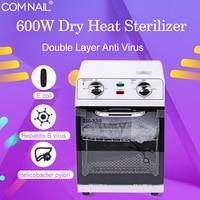 12L High Temperature Sterilizer Box Nail Art Salon Portable Sterilizing Tool Manicure Nail Tool Dry Heat SM 220 Sterilizer