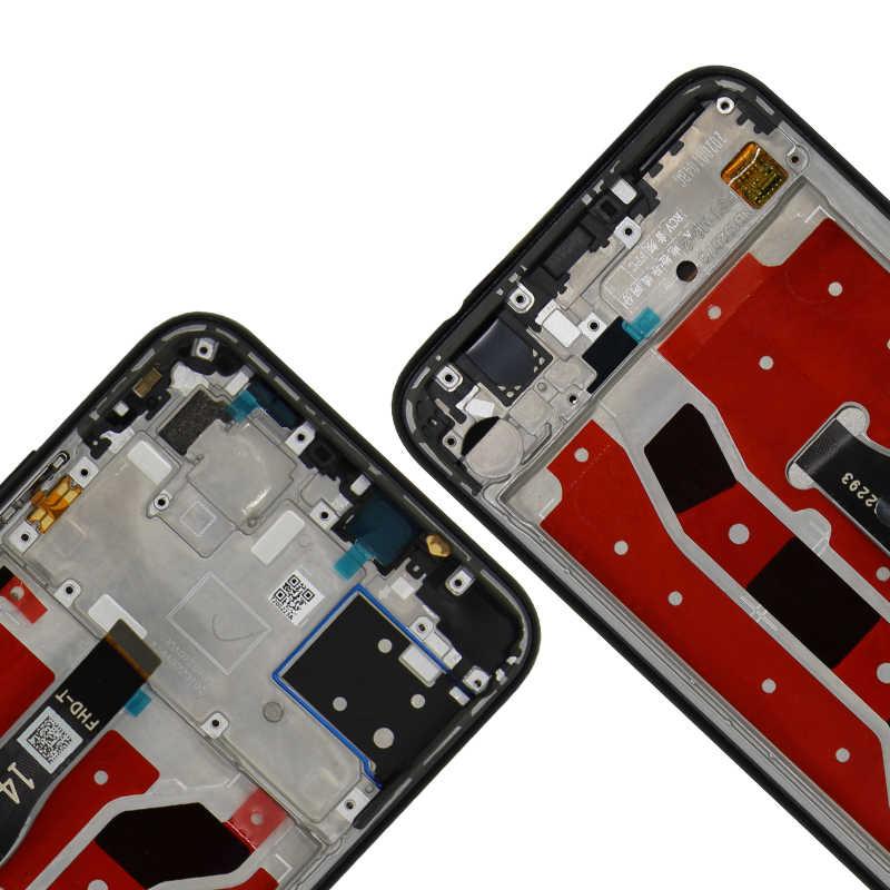 """6.4 """"Cho HUAWEI P40 Lite LCD Nova 6SE Màn Hình Cảm Ứng 10 Cảm Ứng Hiển Thị Các Bộ Phận Thay Thế Cho Huawei P40 Lite màn Hình Hiển Thị"""