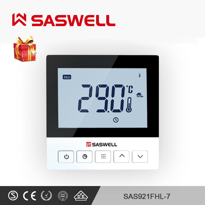 SASWELL Smart Thermoregulator Thermostat Electric Heating Thermostat System Temperature Room Intelligent Thermostat