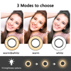 Portable 10W 8 inch 10 inch lamp Ring Light Tripod Stand For Selfie Pictures YouTube Videos Makeup LED Ring Light 10 Brightness discount