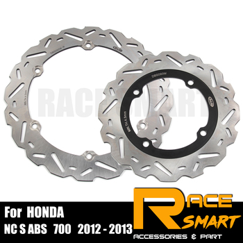 For HONDA CTX DCT ABS 700 2014-2015 Motorcycle CNC Front Rear Brake Disk Motorcycles Brake rotor CTX DCT 750ABS 2014 2015 14 15