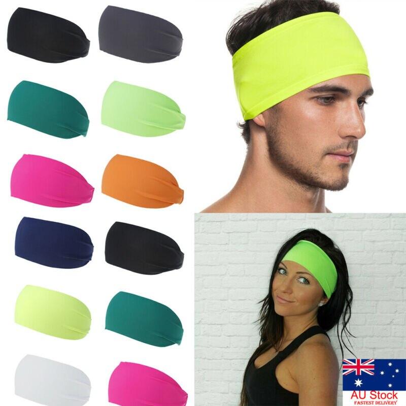 Fashion Sweatband Headband Yoga Gym Running Stretch Sports Head Band