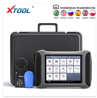 XTOOL A80 With KC100 Bluetooth/WiFi Full System Car Diagnostic tool OBD2 Car Repair Tool Vehicle Programming/Odometer adjustment