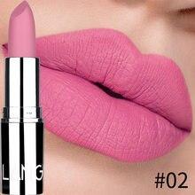 Neue Matte Lippenstift Wasserdicht Samt Lippen Stick 8 Farben Sexy Nicht-stick Tasse Dauerhafte Make-up Feuchtigkeitsspendende Solide lippenstift maquiage
