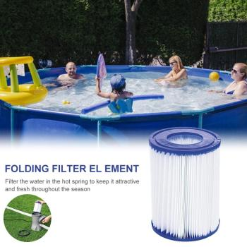 Swimming pool filter element SIZE I, used in swimming pool58093 PUMP TYPE 1 reusable inflatable swimming pool filter accessories image