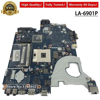 P5WE0 3GMFQ LA-6901P материнская плата для ноутбука Acer 5750 5750G MBR9702003 HM65 Материнская плата