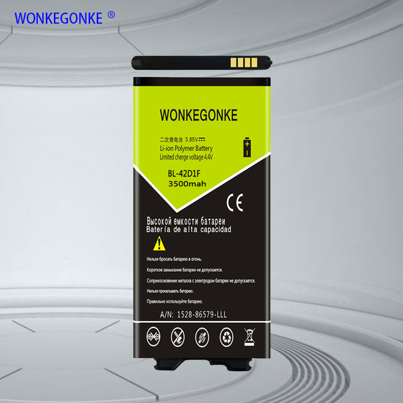 WONKEGONKE BL-42D1F Battery For <font><b>LG</b></font> <font><b>G5</b></font> H850 H840 VS987 H820 LS992 H830 US992 F700L F700S Phone Batteries <font><b>Bateria</b></font> image