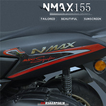 3D Motorcycle fender sticker dashboard sticker moto Front and Rear body decorative decal kit for Yamaha NMAX 155 2020 nmax155