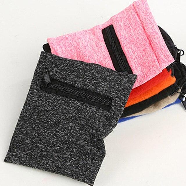 Gorący sprzedawanie Running portfel na nadgarstek Sport ćwiczenia Wipeable etui Zipper ukryj pieniądze ID Card Key wielofunkcyjny