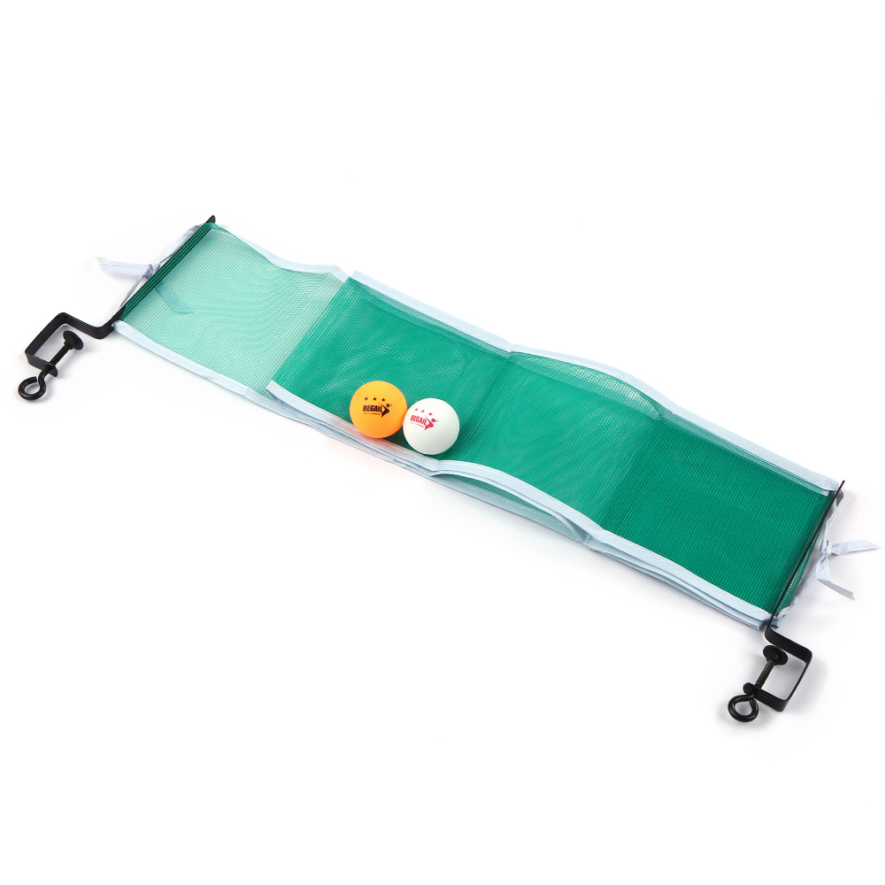 Table Tennis Set Table Tennis Net With 2 Ping Pong Balls And Posts