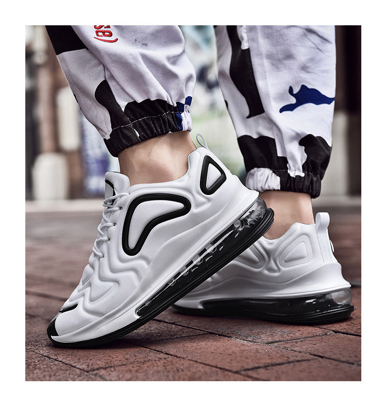 New Mixed Colors Mens Running Shoes Air Cushion Couple Sports Shoes Comfortable Athletic Trainers Sneakers Outdoor Walking Shoes