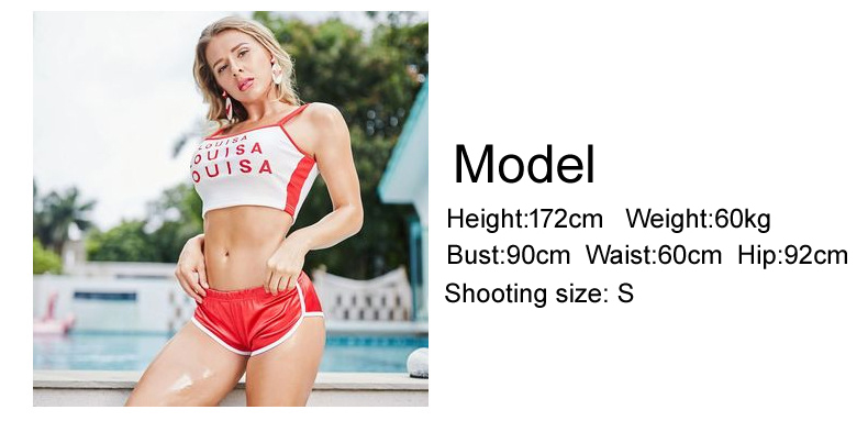 Low Waist Shiny Plus Size Hot Sexy High Cut Booty Gym Shorts Running Micro Mini Short Clubwear Bermuda Athletic Fitness Shorts