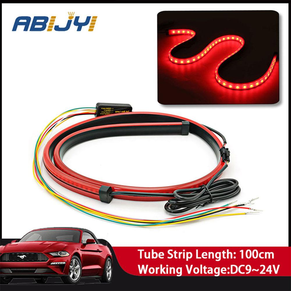 For <font><b>Mercedes</b></font> Benz E300L <font><b>W201</b></font> GLA W176 CLK W209 W202 W220 W204 W203 Brake Lights Red Signals Brake Lights and LED Warning Lights image