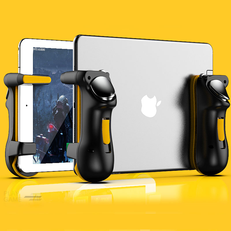 Пусковой контроллер PUBG для планшета Ipad, емкость L1R1, кнопка огня, триггеры, геймпад, джойстик для планшета Ipad FPS, игра