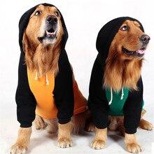 Толстовка с капюшоном для больших собак, куртка, одежда для больших собак, зимняя одежда для больших собак, золотистый ретривер, хаски, лабрадор, самоед, одежда для домашних животных, костюм