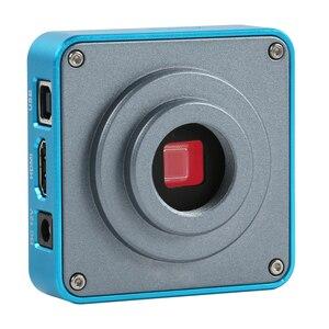 Image 5 - 3.5X 7X 45X 90X Boom Duplo Suporte Trinocular Microscópio Estéreo Zoom Focal Simul Microscópio + 1080P 60FPS 2K 3800W 38MP HDMI USB