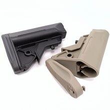 Freien Taktische Teile AM Stil Nylon Unterstützung Jinming M4 416 SI Geändert Lager HK416 Hinten Unterstützung Taktische Zubehör