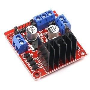 L298N Motor Driver Board Module Stepper Motor Smart Car  Breadboard Peltier L298N High Power for Arduino DC
