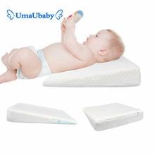 Newborn Baby Sleeping Pillow Anti-vomiting Child Head Baby Positioning Wedge To Prevent Backflow Cushion