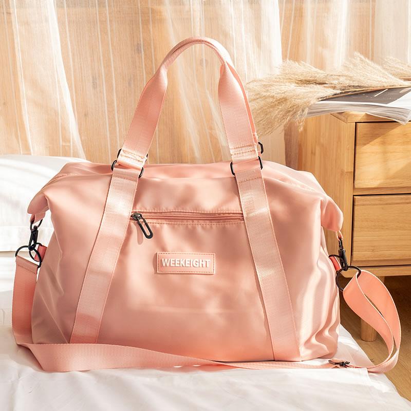 Women's Travel Bag Portable Handbags Lightweight Hand Luggage Large Single Shoulder Bag Waterproof Female Duffle Bags XA307WB
