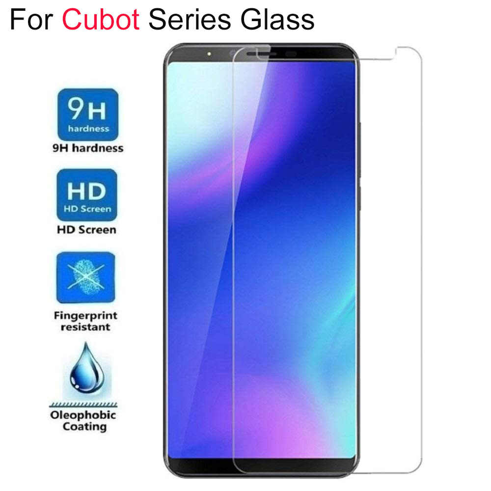 9H 2.5D Tempered Glass For Cubot X15 X16 X17 X18 PLUS J3 Pro R9 R11 P20 Power MAX Note Plus Clear Screen Protector
