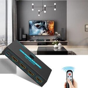 Image 5 - SGEYR HDMI 2.0 commutateur 3x1 4K @ 60Hz 3 ports HDMI commutateur 3 en 1 avec télécommande IR HDMI 2.0 HDCP 2.2 pour XBOX PS3/4 HDTV