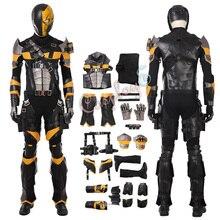 Deathstroke костюм Терминатор Косплей Слэйд Джозеф Вилсон полный набор роскошная версия