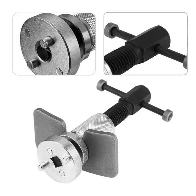 Juego de 3 unids/set de pinza de freno de disco de cilindro de rueda de coche separador de pistón herramienta de mano de rebobinado Kit de herramientas de reparación de coche multifunción nuevo