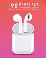 i9s tws Bluetooth Earphone Mini Headphone Wireless Earbuds Sport Bluetooth-5.0 Headset With Mic Charging Box Sport Headset For Smart Phone недорого