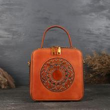 Роскошная женская сумка aeclvr из натуральной кожи элегантный