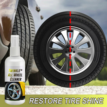 Car Motorcycle Universal Wheel Cleaner Spray Powerfully Remove Stains UV Rim Care Car Wheel Clean Car Accessories
