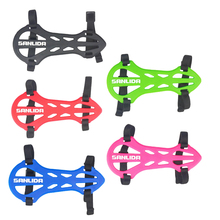 2-Strap Rubber Archery Armguard Hunting Quick Release Arm Protector Gear for Shooting Practice