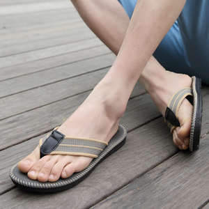 Image 5 - קיץ זוגות גברים ונשים אופנה מגמת כפכפים בית כפכפים החלקה חוף תפירת מגניב סטודנט קליפ מחוץ שקופיות
