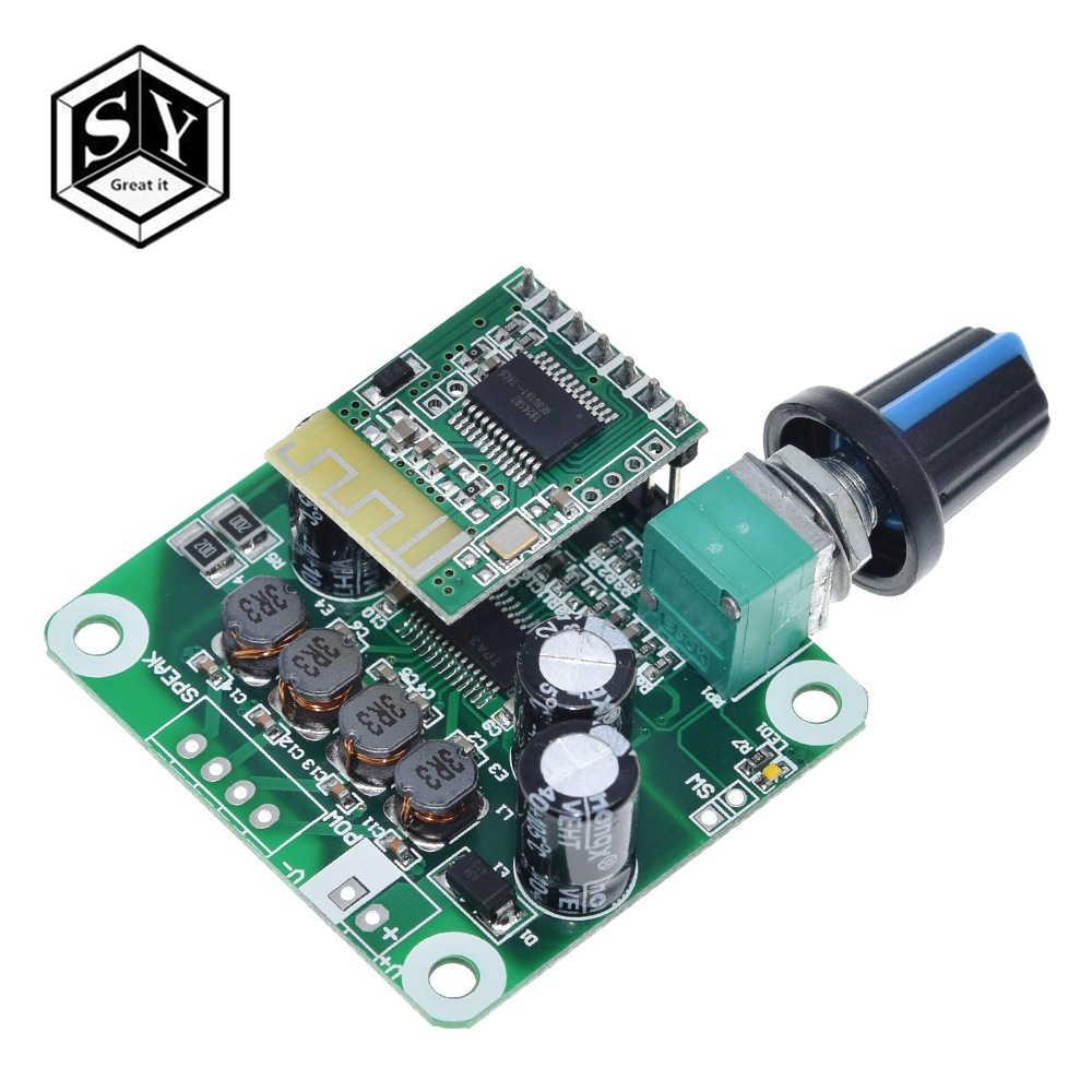 Bluetooth 4.2 TPA3110 15w+15W Digital Stereo Audio Power Amplifier Board Module 12V-24V car for USB Speaker,Portable Speaker