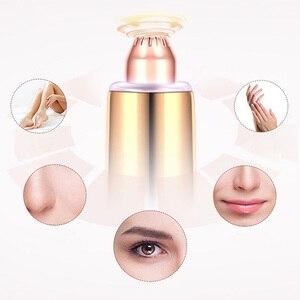 Image 4 - USB 150mAh חשמלי גבות גוזם עט שיער מסיר גבות גילוח/אפילציה ללא כאבים תכליתי עיניים גבות גוזם פנים מכונת גילוח