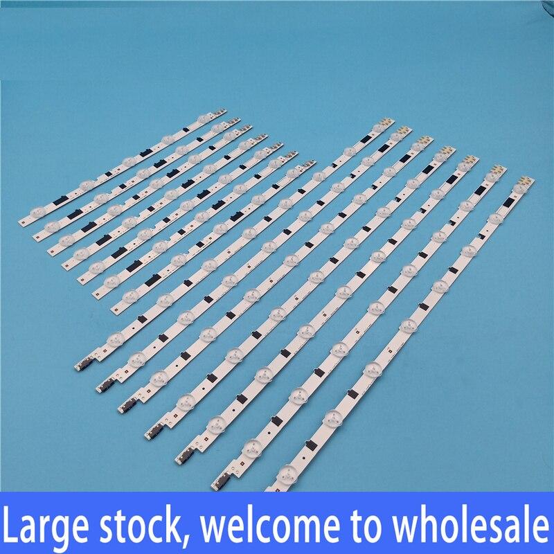 14pcs//set LED strip Replacement for Samsung UE40f5700 2013SVS40F L 8 R 5