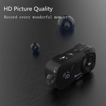 Video Record!MORNYSTAR M1 Pro 800m 4 Riders Group Intercom MP3 HD 1080P  Camera Motorcycle Bluetooth Intercom Helmet Headset