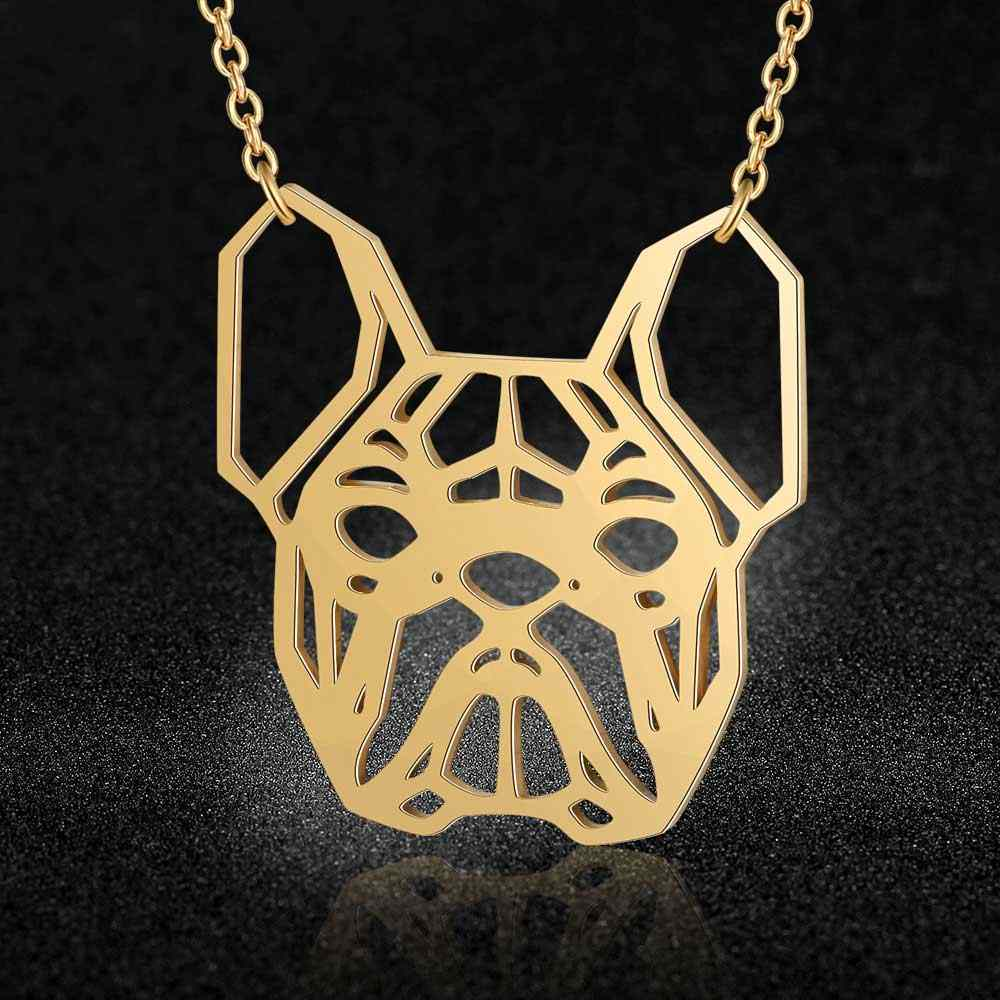 Unique Bulldog Necklace LaVixMia Italy Design 100% Stainless Steel Necklaces for Women Super Fashion Jewelry Special Gift