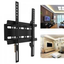 TV duvar montaj braketi bağlar sabit düz Panel TV televizyon çerçeve için 12 37 inç LCD LED monitör düz panel yüksek kalite